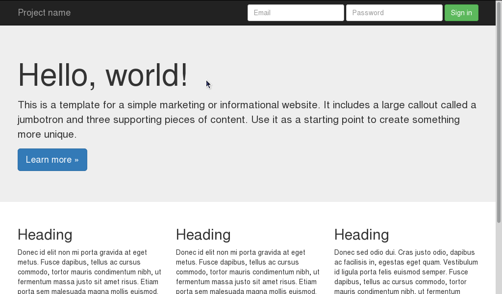 Como criar um tema responsivo do WordPress com o Bootstrap - Antônio ...